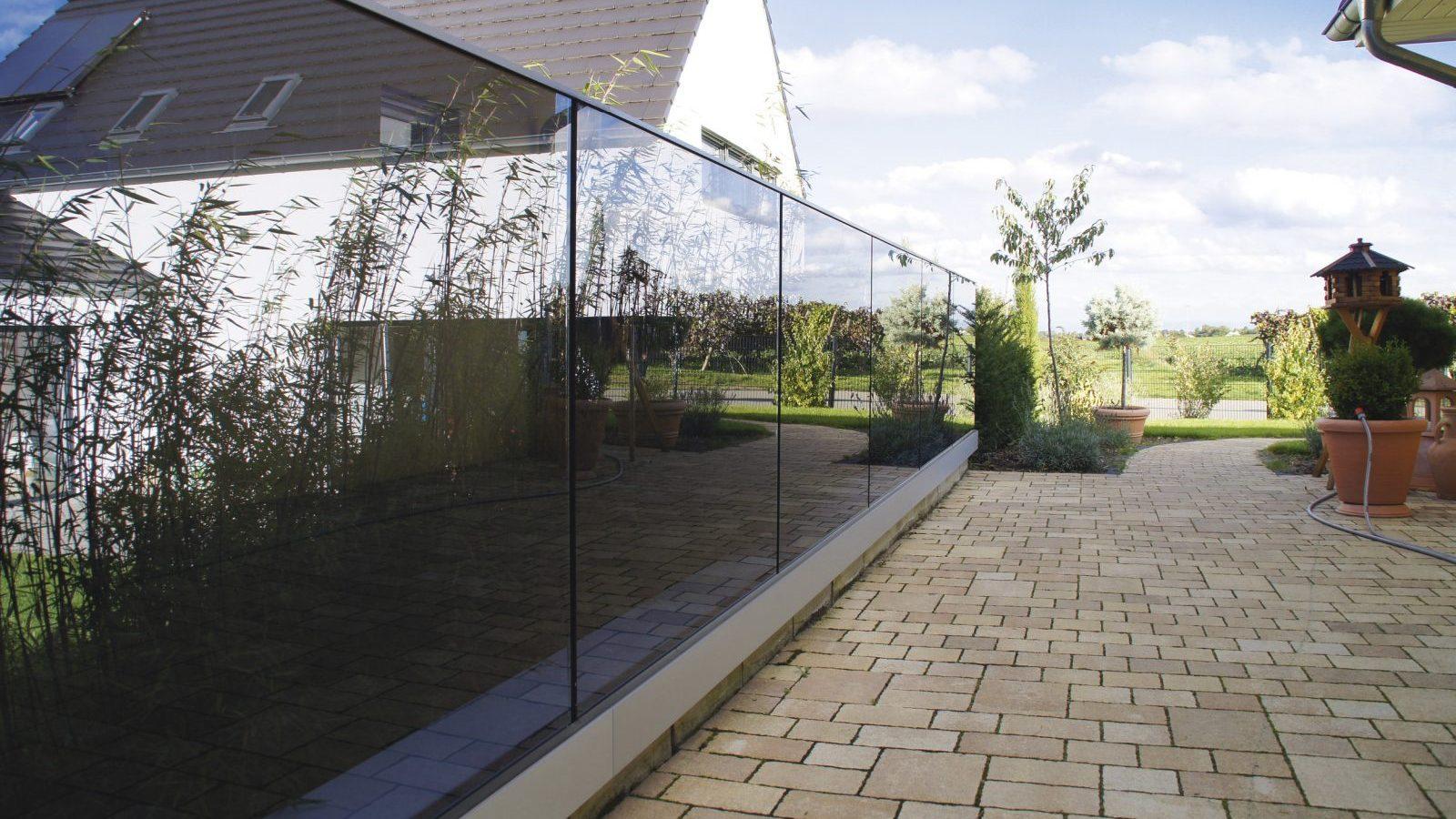 Sichtschutz aus Glas