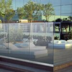 Sichtschutz Windschutz Glas